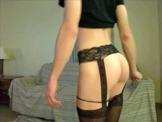webcam, crossdresser, lingerie