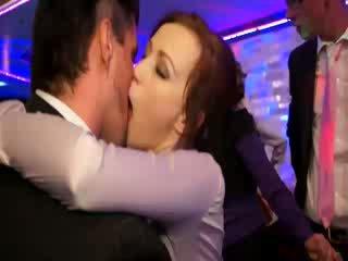 Pornstars crashing at office party