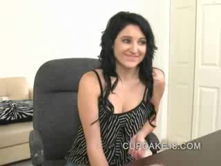 adorable brunette doll casting couch sex for Cash with a complete stranger