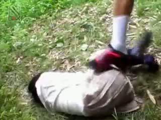 Fragile anal creampie şirret getting brutally becerdin penetran
