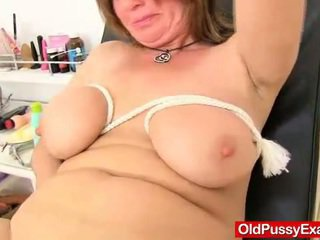 Cougar gyno in addition to dildoes and bang toys