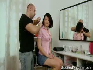 Dasha invites ji mlada in seksi lover več in je pripravljen da