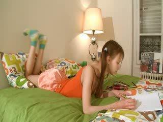 Khó chịu homework của thông minh teenager