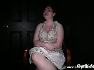 Gloryhole Secrets Bbw Teen Simone Loves Hard Cock 1