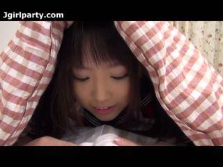 japanse, pijpbeurt, fetisch, amateur