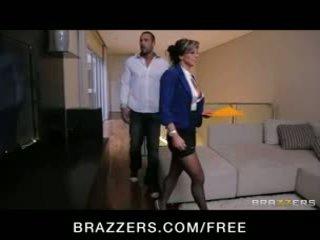 Esperanza gomez - sexy španielske skutočný estate agent fucks ju zákazník na vykonať a predaj