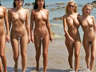 Nude Beach Fashion Show 2