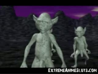 3d aliens trên một công chúa!