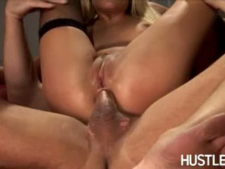 Sultry Chick Holly Wellin Always Liked Getting Cummed On Her Face After Fucking