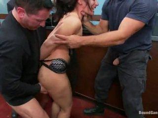 Sheena ryder has throat прецака от банка robbers