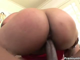Large Black Cock Drilling Big Booty Asian Slut Kya Tropic