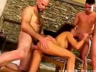 Olivia del rio banged door drie dudes