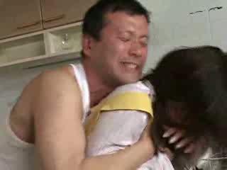 מזיין שלי אישה sister ב kichen וידאו