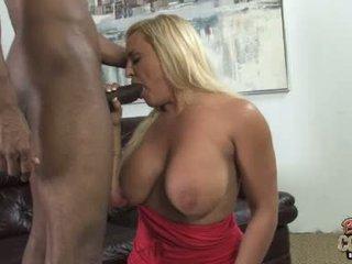 si rambut coklat segar, besar seks tegar, blowjobs ideal