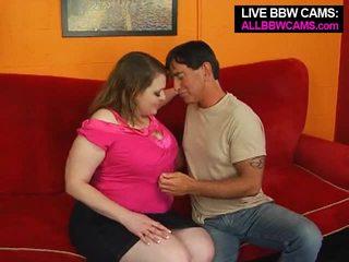 وردي الحلمات المرأة الجميلة كبيرة اللعنة ل thin guy. طبطب الحمار جزء 1