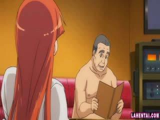 Hentaý jana slammed by older man