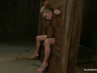 Young Aiden Aspen going through the punishment