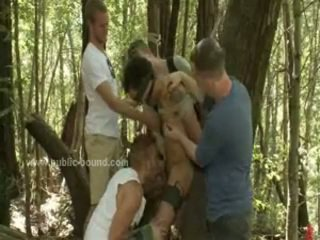 Couple Of Gays Caught In The Forest