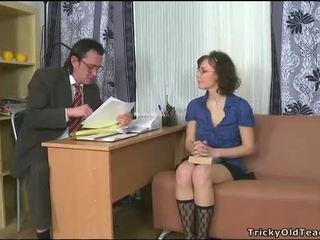 Sensual tutoring con profesora
