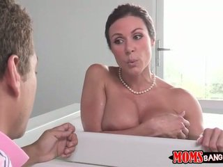 Boy spies on his stepmom and gets caught