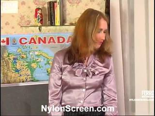 Irene And Adam Red Smut Nylon Scene