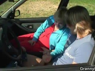 Makinë driver bangs gjysh kurvë