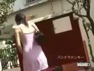 Japanilainen sharking varten pubic hiukset video-