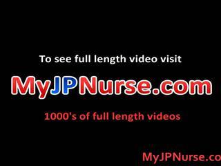Aki yatoh asiatisk sykepleier likes knulling