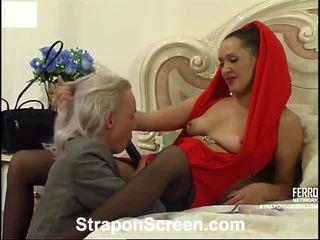 Helena और randolph mindblowing स्ट्रैपआन चलचित्र
