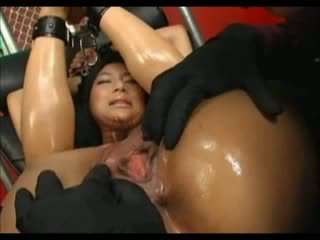 Asian Takes Some Pussy Torment