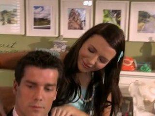 Ashli Orion And Natalie Vegas Babysitter DO Hard Oral Stimulation