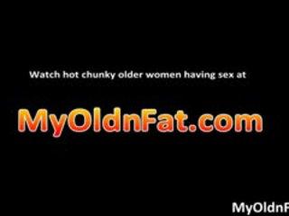Filthy Obese Horny Brunette