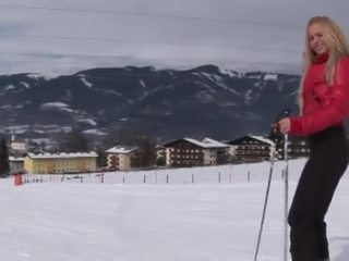 Eroberlin Anna Safina Russian Blond Ski Austria Open Public
