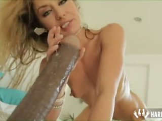 Anal Masturbation With Giant Dildo Sheena Shaw