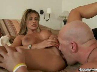 Lusty brunette esperanza gomez loves the tick shaft shagging her until that babeh cums