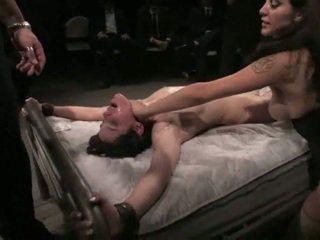 Bound And Used Inside Public