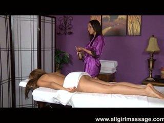 Vicki Chase lovely labia massage