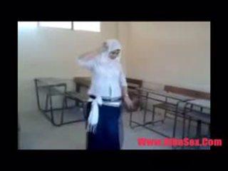 Arab egypte dance en escuela