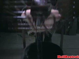Binding bdsm fetisj sub vann straffet