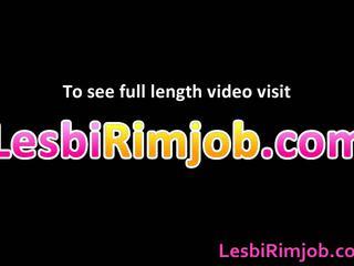 Dirty Horny Lesbian Brown Hole Annilingus Gangbang Movie