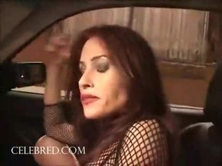 Street Hooker Ginger Lea Outstanding In Her Fishnet