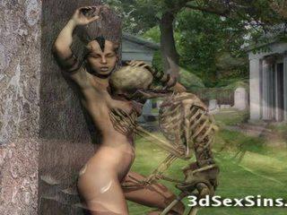 3d Creatures Fuck Babes!