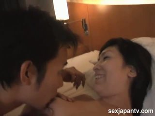 SexJapanTV: Keiko shinomiya has her way with a stiff cock