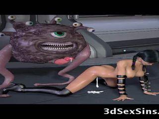Ogres ja aliens naida 3d elf tytöt!