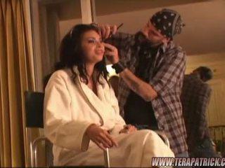 Mega Sexy Pornstar Tera Patrick Getting Ready For Her Fotoshoot