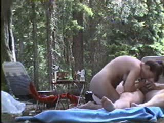 Couple camping sex Video