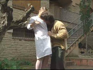Rita Faltoyano banged outdoor Video