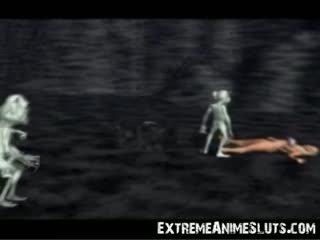 3d aliens di sebuah putri!