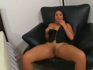 Slutty Oriental Ashley Marie Getting The Flesh Pipe Layed Deep In Her Hot Twat