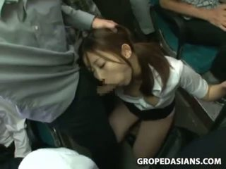 girl groped on la bus